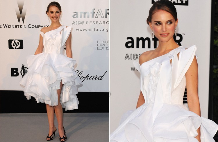 Natalie Portman at 2008 amfAR Cinema Against AIDS Gala
