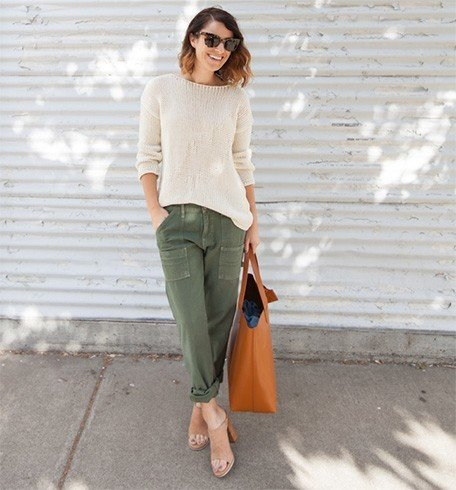 Neutral toned mules