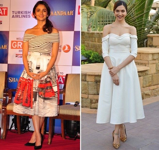 Bollywood Celebrities In Off-Shoulder Tops And Dresses
