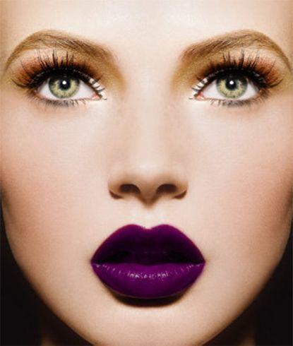 Purple Lipstick Trend