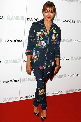 Rashida Jones in Pajamas