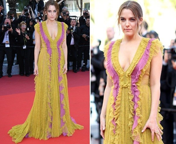 Riley Keough at Cannes 2016
