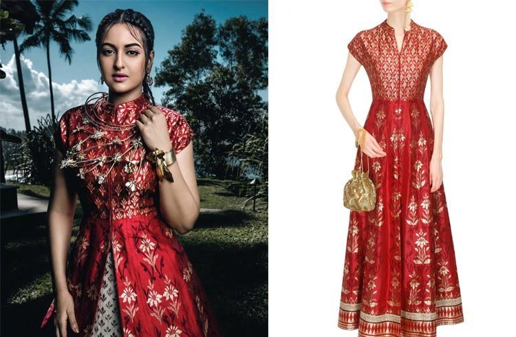 Sonakshi on Harper Bazaar Bride Photoshoot
