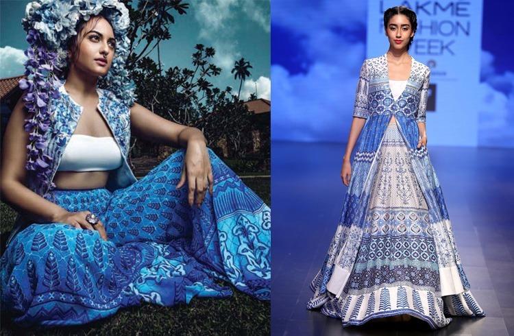 Sonakshi on Harper Bazaar Bride 2016 May