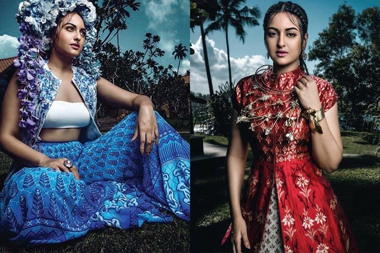 Sonakshi Sinha on Harper Bazaar Bride May 2016