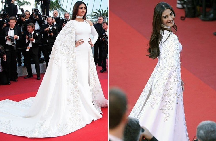 Sonam Kapoor In Ralph And Rrusso Couture