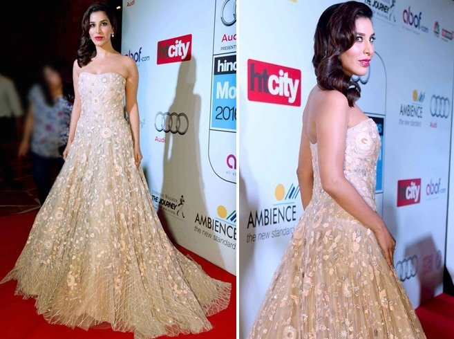 Sophie Choudry at HT Most Stylish Awards