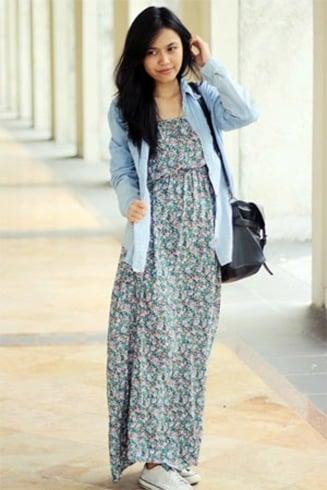 Summer Street Style Indonesian Womens