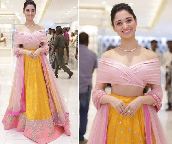 Tamannaah Bhatia in Anushree Reddy label