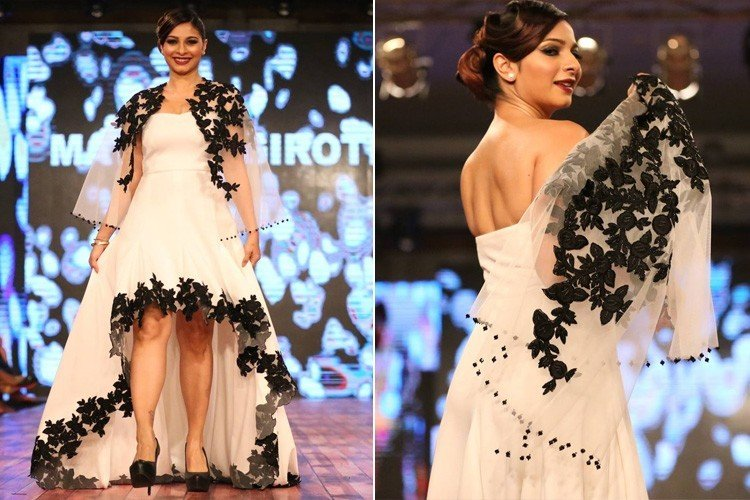 Tanishaa Mukerji For Mayyur Girotra At IBFW 2016