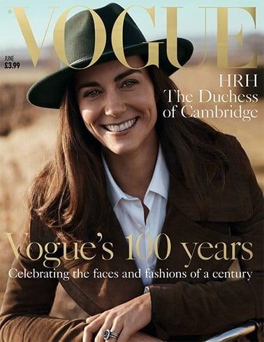 The Duchess of Cambridge on Vogue 2016