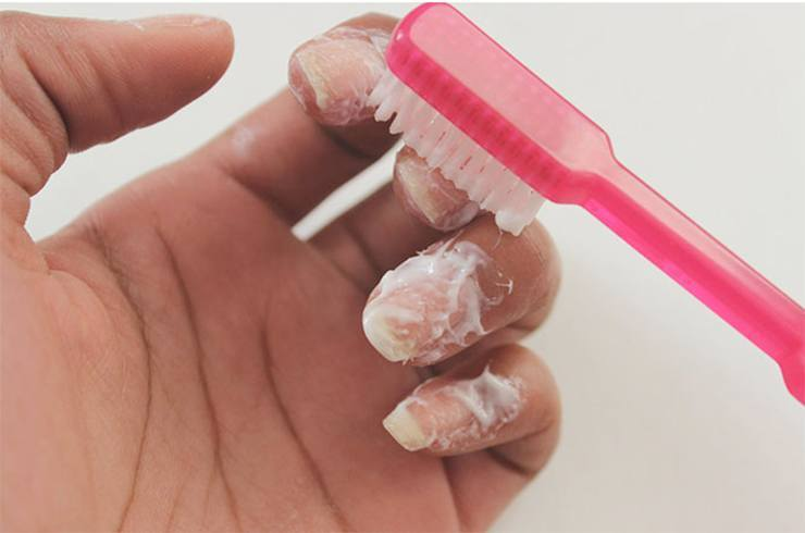 Toothpaste for Nails