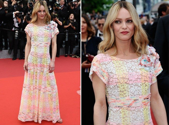 Vanessa Paradis at Cannes 2016