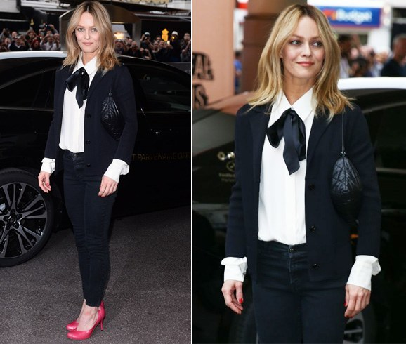 Vanessa Paradis at Cannes