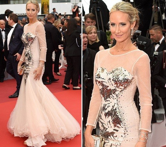 Victoria Hervey at Cannes 2016