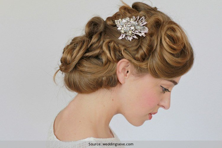 Vintage Hairstyles For Weddings