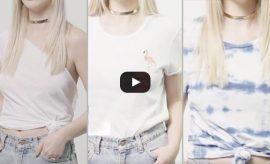 Ways to Upgrade a White T-Shirt
