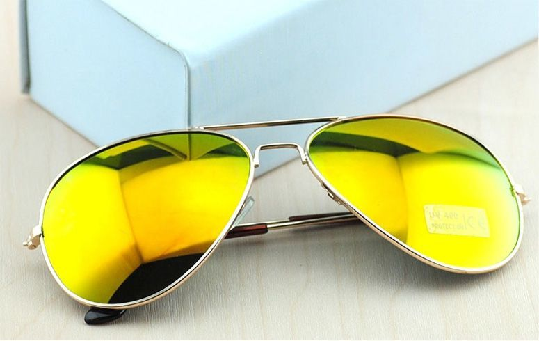 Yellow Mercury Aviators