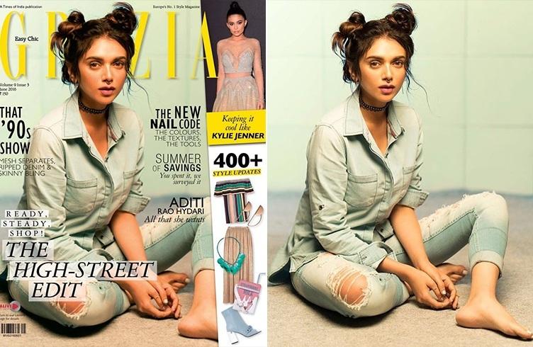 Aditi Rao Hydari Grazia Magazine