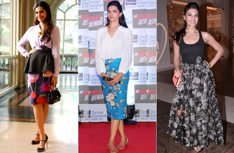 Celebrities Floral Fashion