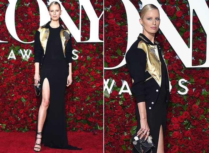 Karolina Kurkova at Tony Awards 2016