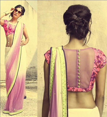 Sheer Back Neck Designs