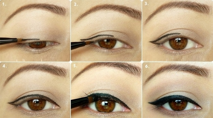 Ways To Apply Eyeliner