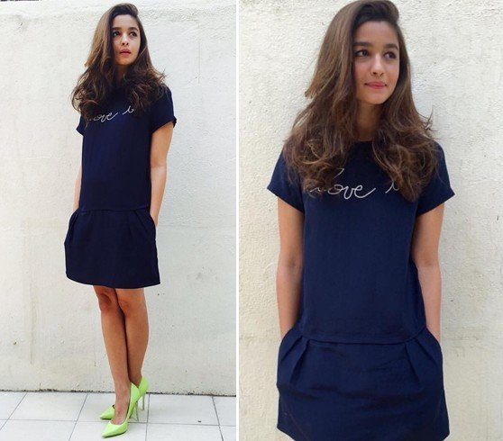 Alia Bhatt in Zadig And Voltaire Dress