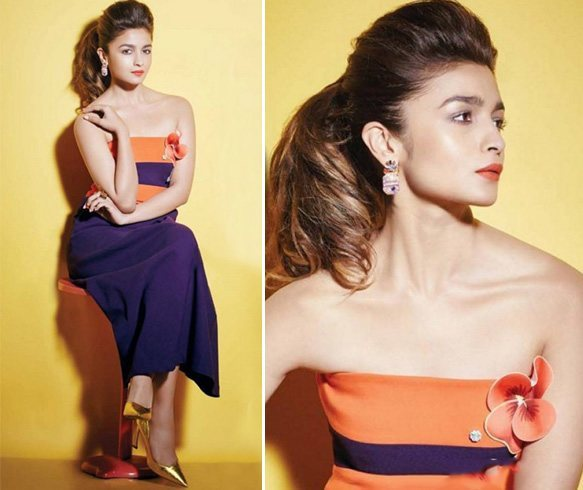 Alia Bhatt Hello 2016 Shoot