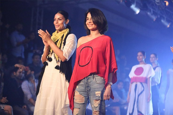 Asmita Marwa at Day 2 of IBFW 2016