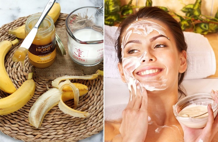 Honey Milk And Bananas Face Pack