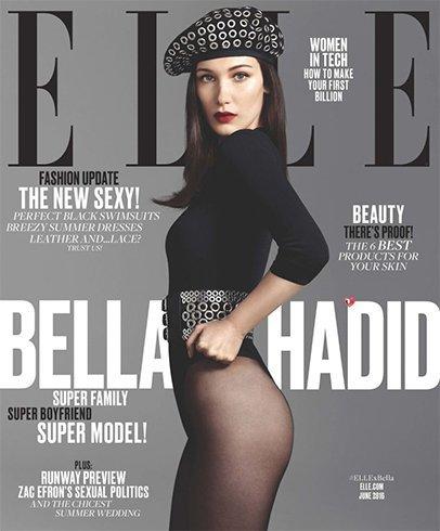Bella Hadid On Elle June 2016 Magazine
