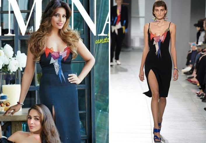 Bipasha Basu in Christopher Kane outfit