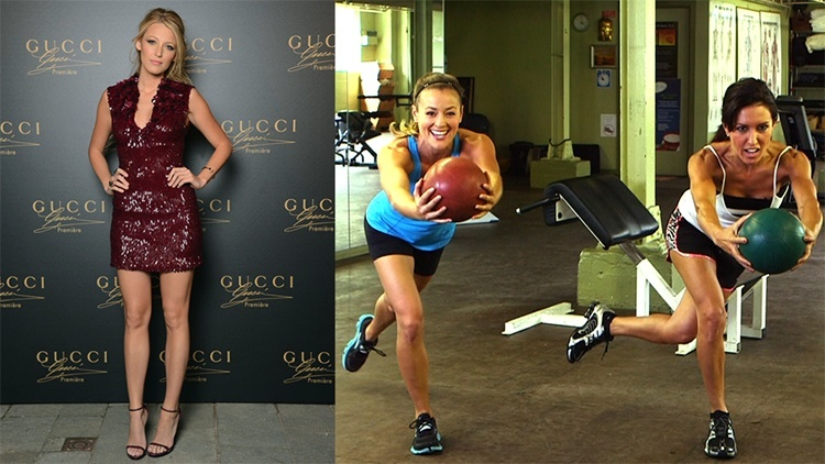 Blake Lively Leg Workout