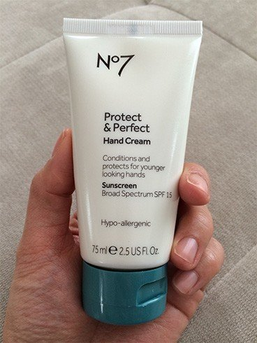 Boots No 7 Protect and Perfect Hand Cream