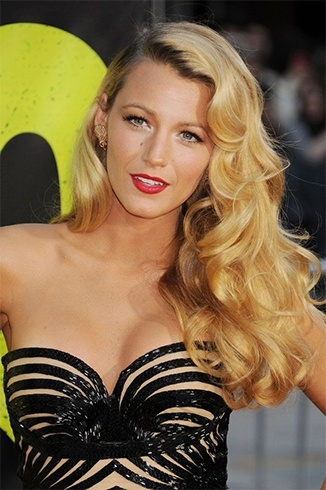 Celebs Curly Hairstyle