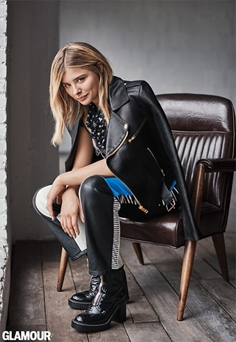 Chloe Grace Moretz Glamour June 2016 Photoshoot