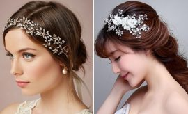 Different Accessories For Bridal Hairstyles