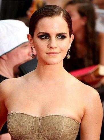 Emma Watson Wet Hair