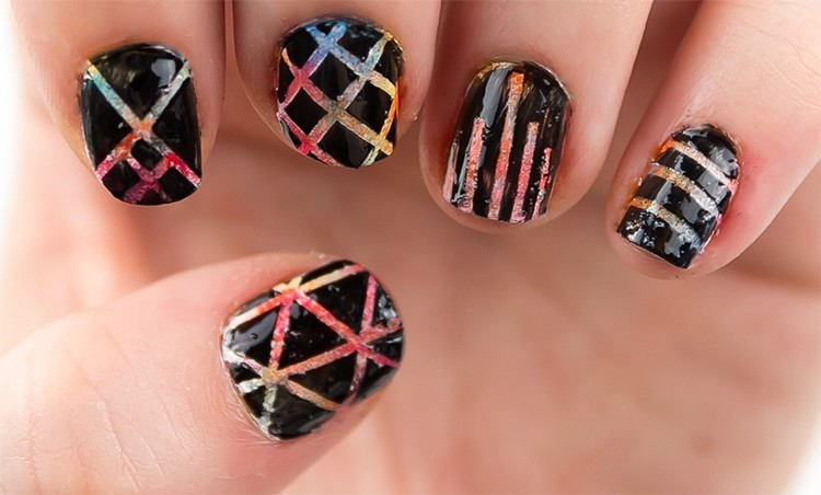 Etched Nail Art