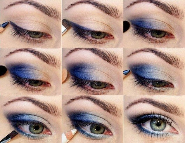 Eye makeup for Pisces