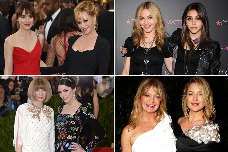 Famous Mother Daughter Pairs