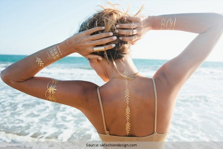 Gold Tattoos Ideas