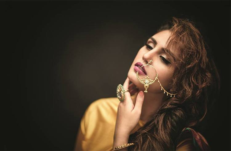 Huma Qureshi On Wedding Times June 2016 Phtoshoot