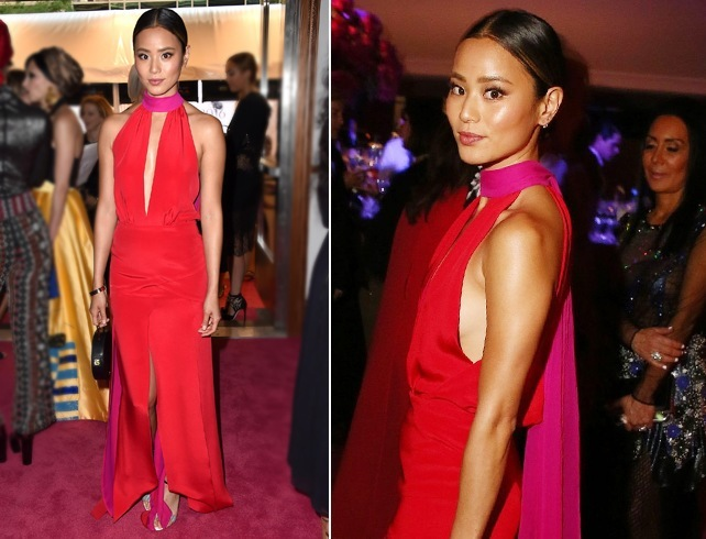 jamie chung at CFDA fashion awards 2016