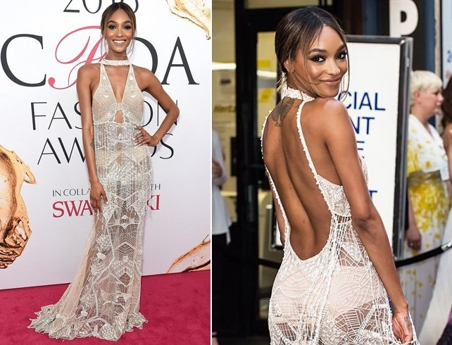 jourdan dunn at CFDA fashion awards 2016