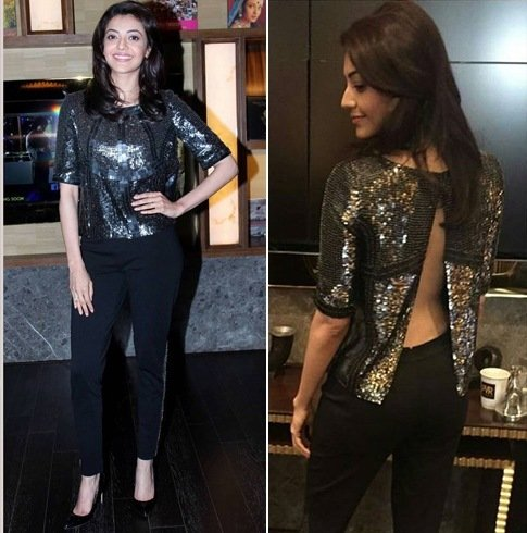Kajal Aggarwal in Rohit Gandhi and Rahul Khanna