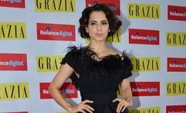 Kangana Ranaut At Grazia 100 issue Magazine Launch