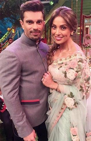 Karan Singh and Bipasha At The Kapil Sharma Show