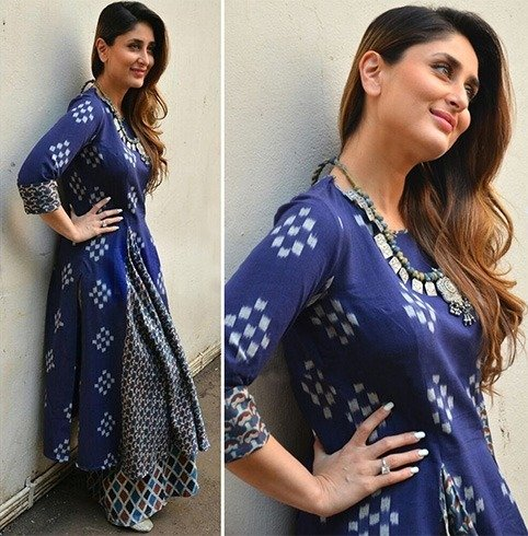 Kareena In Anushree label outfit